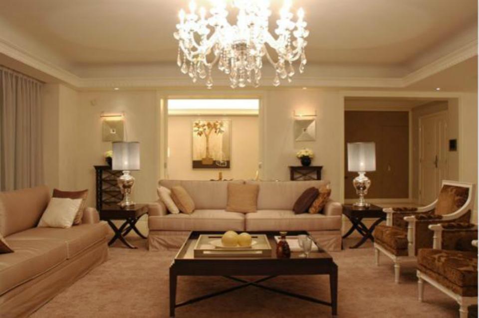 光明港新村两室两厅美式家装效果图