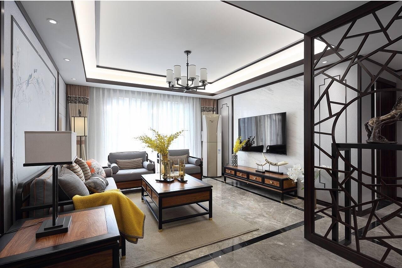 春明景和3居室中式装修效果图