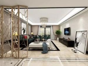 新中式四居装修效果图