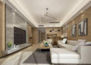 新中式三居家装效果图
