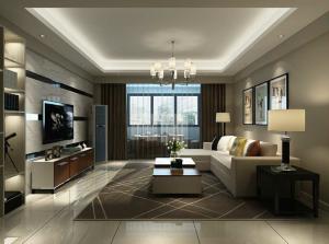 海沧天湖10号楼现代简约三居家装效果图