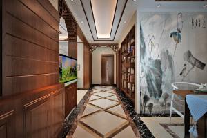 古典风格 (泰豪名城三居室)家装效果图