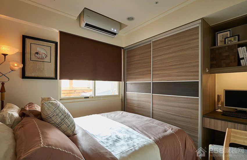 86平现代简约风三居室装修效果图