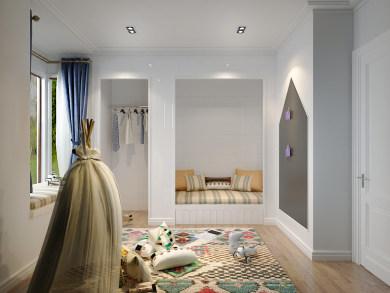 129㎡地中海3居室装修效果图
