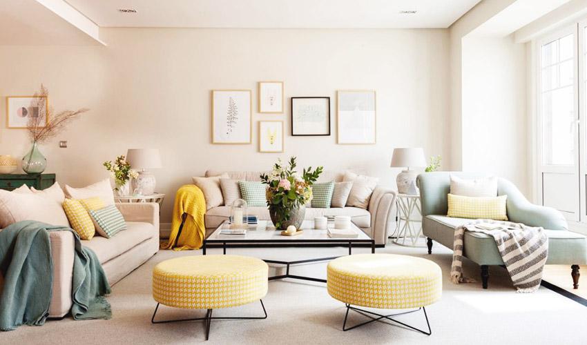 联投金色港湾46平现代简约单身公寓装修效果图