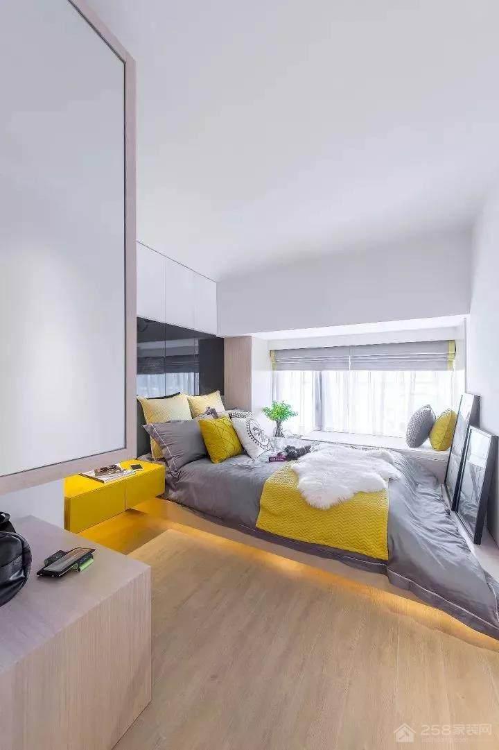 保利西江林语三居室现代简约装修效果图