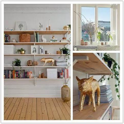 贵安新天地两居室北欧风家装效果图