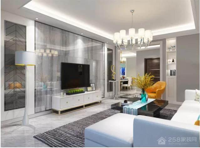 金马怡园 149㎡现代风格家装效果图