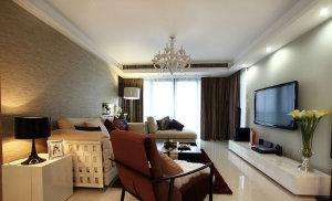 浪漫混搭风 157平低调奢华四居室装修效果图