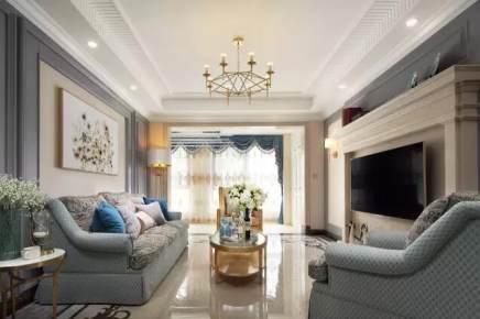 九方城143平方优雅美式风格样板房