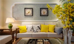 新中式风格套房新房装修效果图