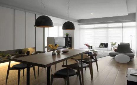 现代简约风格套房新房装修效果图