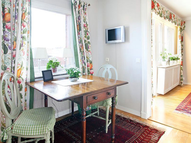 磨山港湾 两居室 90平-田园风格