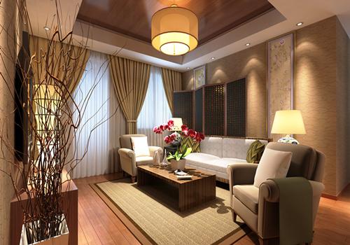 珠海香洲区华发水岸-日式风格-二居