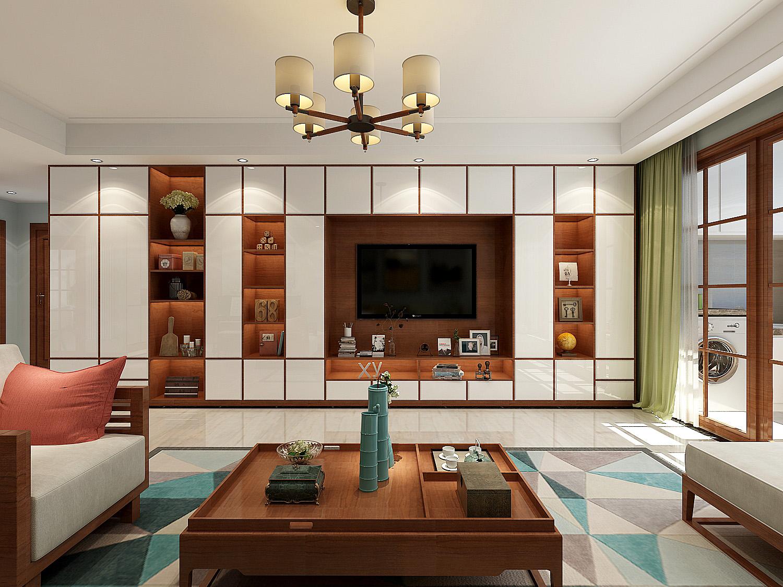 西江华府+三室两厅一厨两卫-中式风格