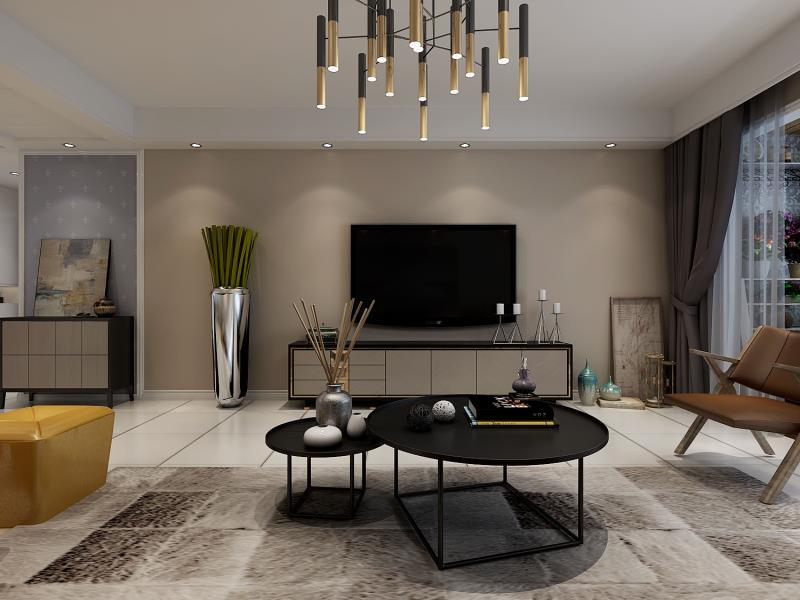 西江华府+四室两厅-现代简约风格