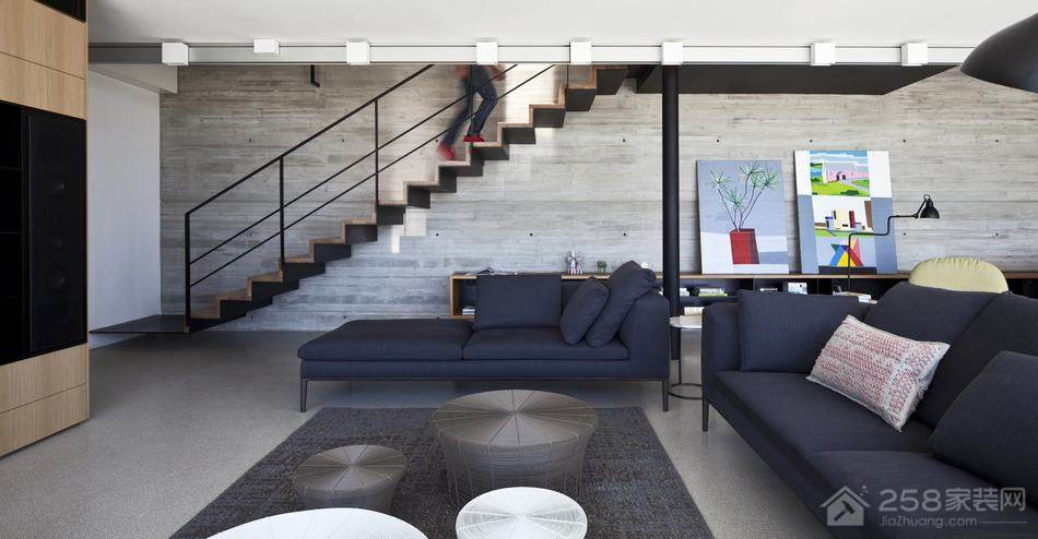 九里湾北欧风格120㎡三居室