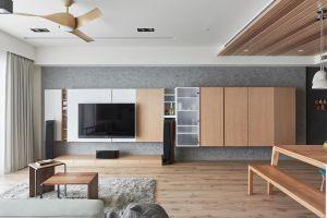 名城国际三居室现代简约风装修效果