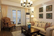 纽宾凯爱尚里 三居室 92平-美式风格