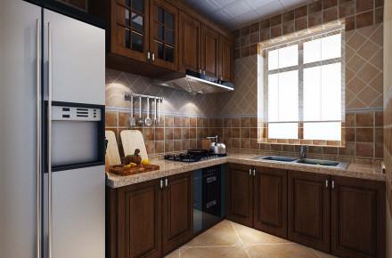 美式风|小户型厨房