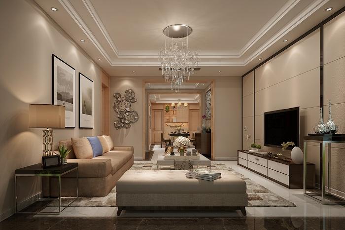 龙湖时代天街140--现代风格