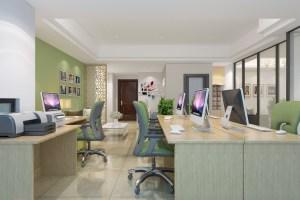 安吉万达-办公室装修工程