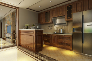 K2海棠湾别墅新中式家装效果