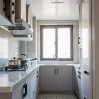 素雅白色厨房装修效果图欣赏
