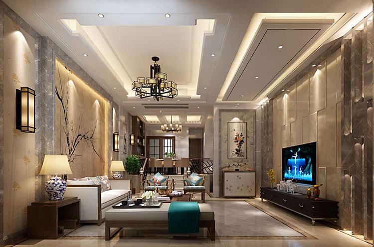 光明城 新中式 别墅