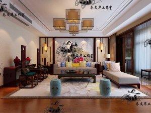 济南锦兰园 240m² 新中式