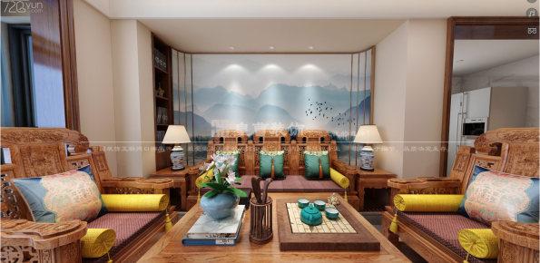金枫园二手房改造——新中式风格