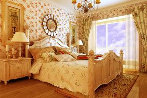 别致优雅欧式卧室装修效果图