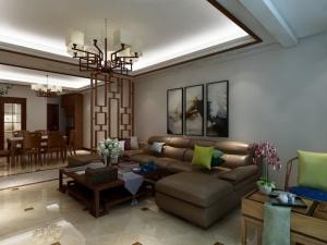 邦泰国际社区B4户型中式风格