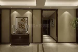 上城国际130㎡现代中式风格