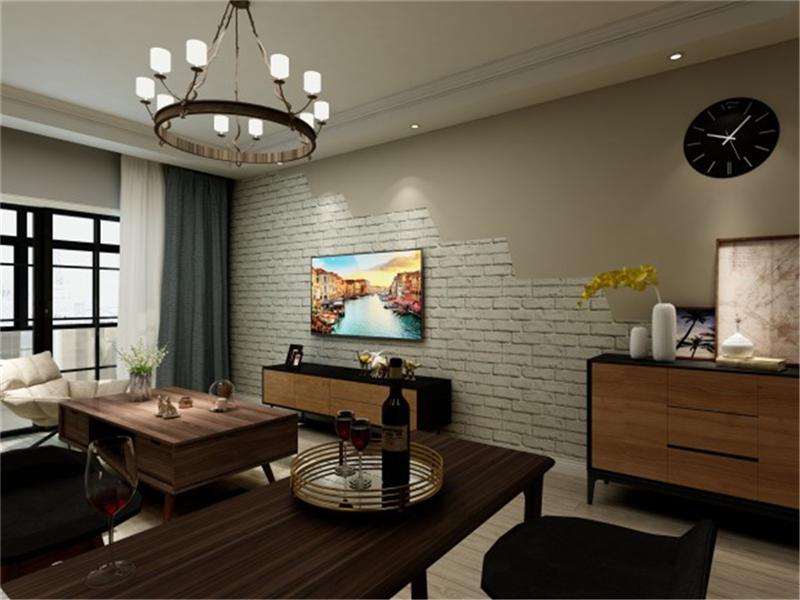 兴园小区 127㎡ 北欧风格 三室装修