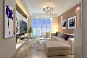 禹州花园120㎡现代风格三居室
