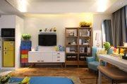 金公馆现代简约一居室家装效果图