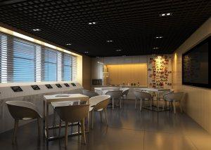 黄金教育办公楼现代风格