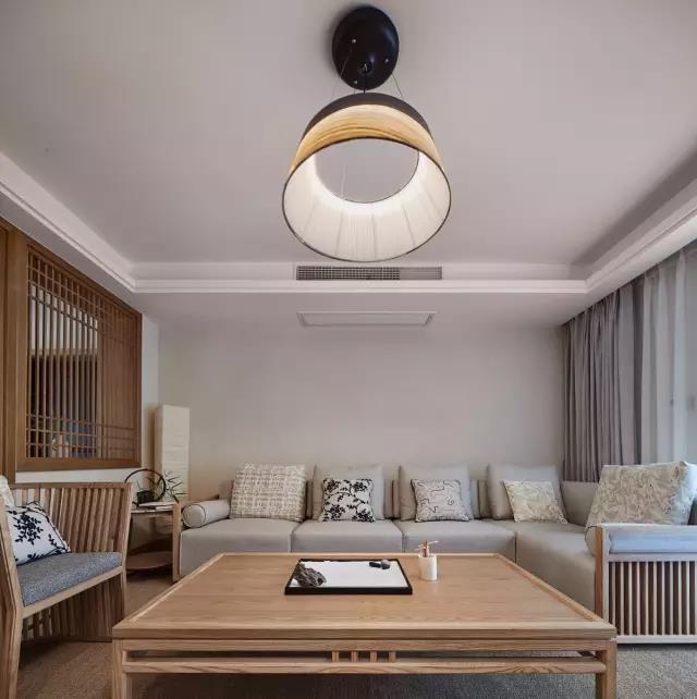 135㎡日式新居,电视墙做隐形门,藏得可真漂亮!