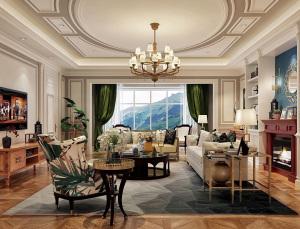 河口河安大平层欧式欧式四室两厅220㎡全包