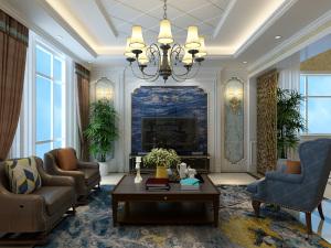长安泰美御苑 欧式  260㎡四室两厅全包