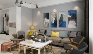 碧水豪庭120㎡三室两厅现代风格
