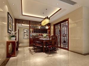 传麒尚林153平现代中式风格
