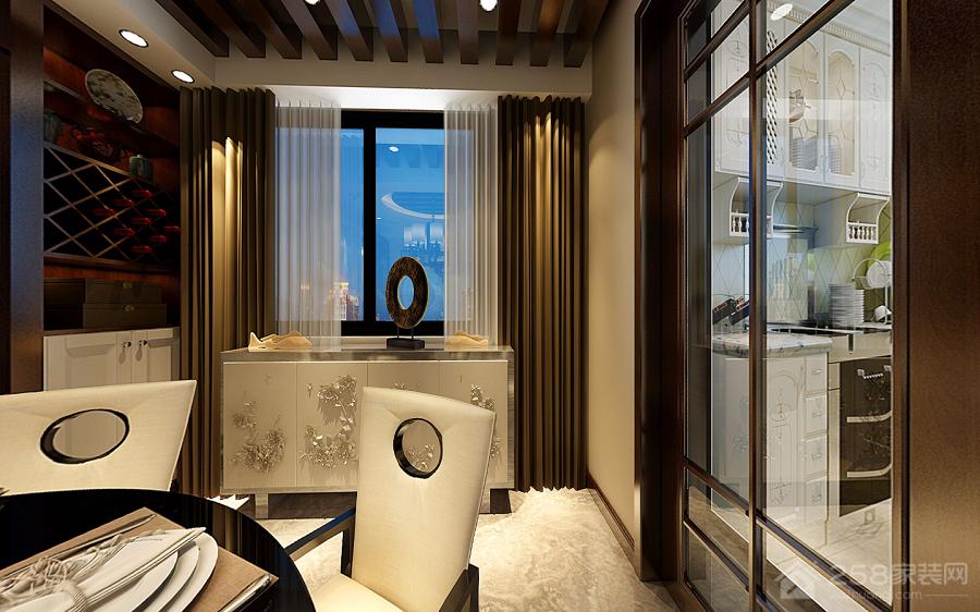 【住逻辑空间设计】小石城新中式风格设计案例