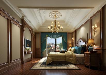 融科橡树澜湾-美式风格-别墅