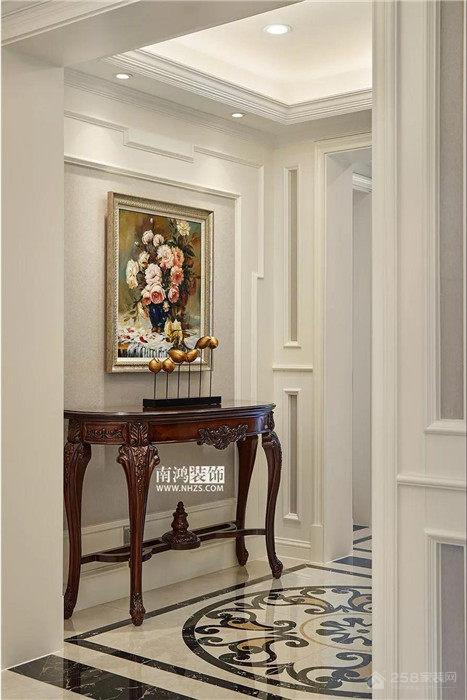 |南鸿装饰|金茂悦 三居 180方 美式风格