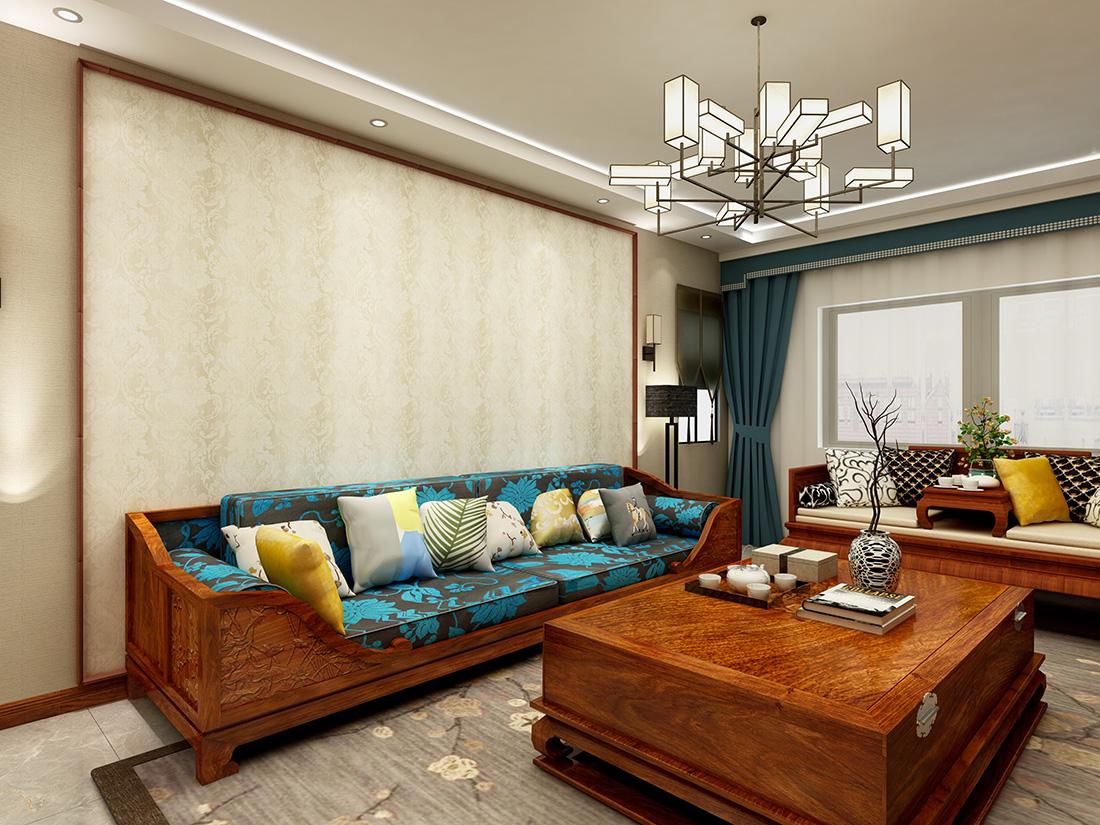 桂花园 新中式风格130平大包11万