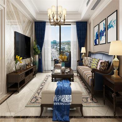 |南鸿装饰|德信东宸  三居 126方 美式风格
