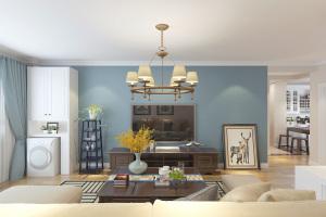 中海蓝庭 美式风格装修效果图