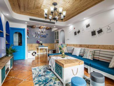 地中海风格小两室